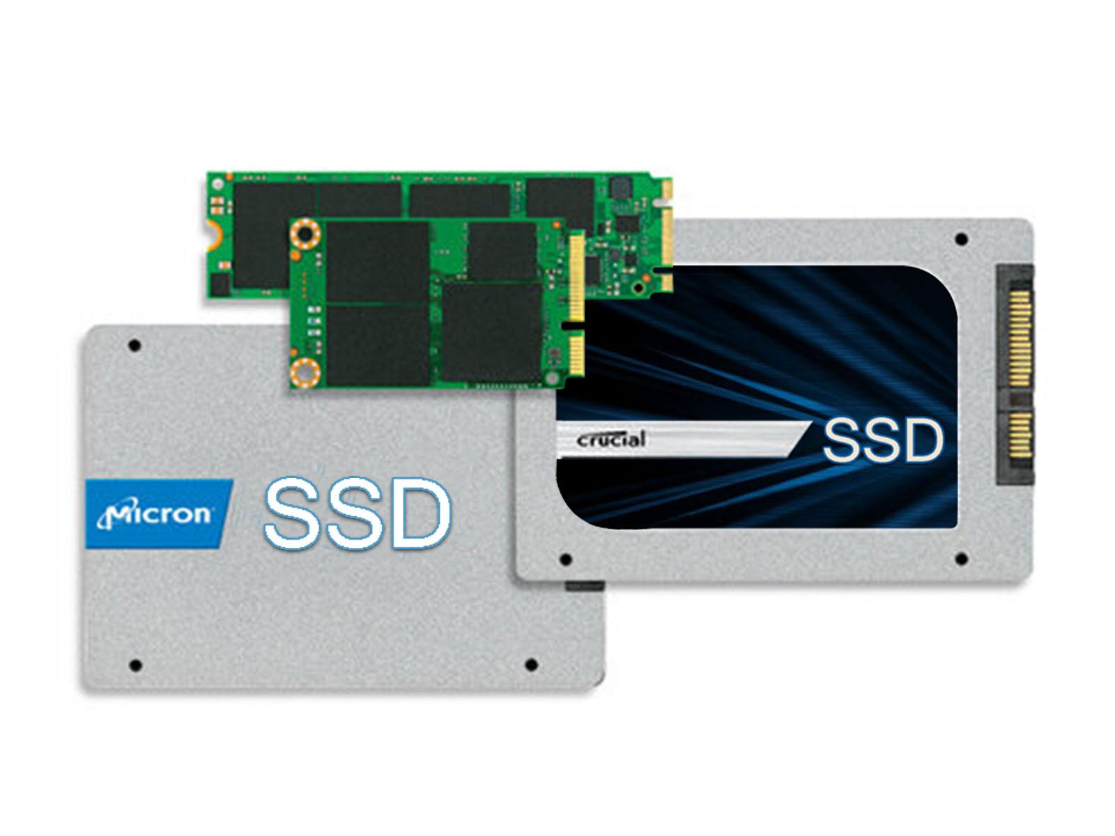 美光/ Crucial SSD