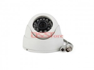 1/3 Sharp And Sony 420TVL IR Dome Camera 24pcs LED for Night Vasion 6mm Lens 15M IR Distance