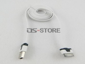 3x 3FT 6Pin USB Sync Data Charging Cable Cord for iPhone 4 4G 4S iPod iPhone