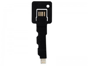 New BASEUS Portable Key Data Sync Charging USB Mini Cable For Apple iPhone 5 5S 5C
