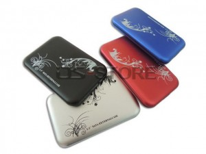 "High quality/speed USB 3.0 External Hard Drive Enclosure Case Box for 2.5"" SATA HDD flower  style"