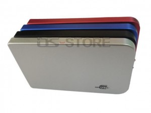 """Ultra-thin High speed USB 3.0 External Hard Drive Enclosure Case Box for 2.5"""" SATA HDD Simple style"""
