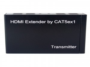 HDMI 100m Extender over One CAT5E/CAT6 TCP/IP IR Function Transmitter+Receiver