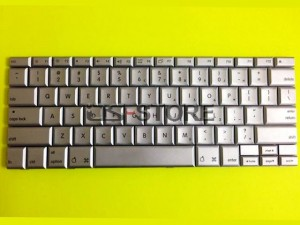 "Keyboard replacement for Apple PowerBook G4 Laptop 12"" 12.1"" A1010 A1104 Silver Multi Language"