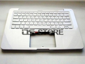 "Keyboard with Top Case Frame replacement for Apple MacBook Pro Unibody 13"" 13.3"" A1342 MC207 MC526 Multi Language White"