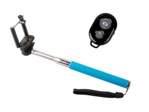 Wireless Bluetooth Remote Control Self Take Pictures +Extendable Handheld Monopod  For iphone IOS Android Phone