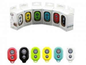 Wireless Bluetooth Remote Control Self Take Pictures For iphone IOS Android Phone