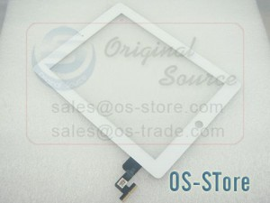 """9.7"""" Touch Digitizer Glass Screen Panel Replacement for apple IPad 2 White"""