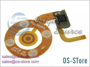 Wheel Button Flex Cable Replacement for iPod Nano 3rd