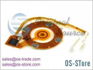 Wheel Button Flex Cable Replacement for iPod Nano 4th