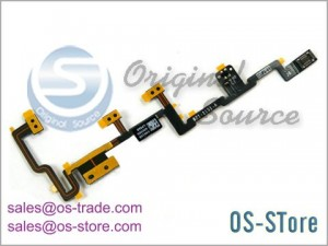 Power On/Off Volume Control Flex Cable Replacement for apple iPad 2 821-1151-A