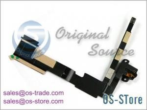 Audio Jack Flex Cable Replacement for apple iPad 2