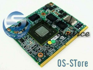 nVidia GT 330M N11P-GE1-A3 DDR3 1GB MXM A 3.0 VGA Video BD Card Module