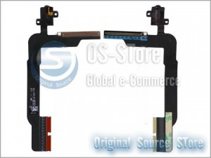 Headphone Audio Jack Flex Cable Replacement for apple The New IPad 3 Wifi