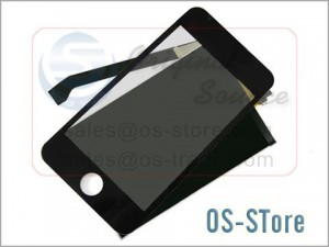 "3.5"" Full LCD Display Screen+Touch Digitizer Glass Panel Replacement for iPod Touch 1st Gen"