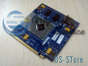 ATI Acer HD4650 M96-M DDR2 1GB MXM I II 2.0 Video VGA BD Card Module