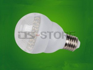 E27 E26 B22 3W Warm White Light LED Ball Bulb Lamp AC220V