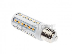 E27 6.5W 44X 5050SMD White / Warm Light LED Corn Bulb Lamp 110V-240V