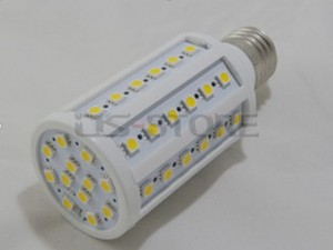 E27 9W 60X 5050SMD White / Warm Light LED Corn Bulb Lamp 110V-240V