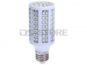 E27 7.5W 144x3528 SMD White / Warm Light Corn LED Bulb Lamp 110V-240V