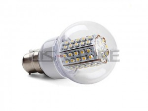 E14 E26 E27 B22 3W SMD3528X66pcs LED 320-460LM 3000-6000K Warm White Light LED Ball Bulb Lamp AC220V