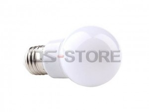 E14 E26 E27 B22  3W 5W 320-460LM 3000-6000K Warm White Light LED Ball bulb Lamp AC220