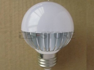 E27 3W 300LM Warm /  White Light LED Ball Bulb Lamp AC85-265V