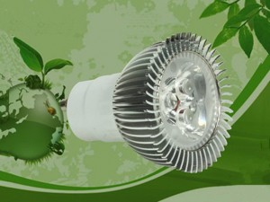 GU10 E27 3W 3X1w LED Spot Lamp White / Warm Light 2700-70000K 300LM AC85-265