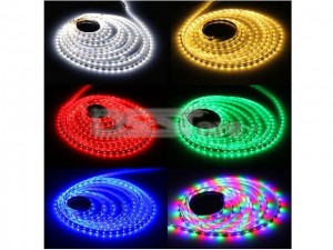 5M 15W RGB LED Strip Light With 60 Lamp Beads /Meter 5050 SMD For Christmas & Halloween Decoration