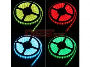 4.8W 5M Length 300x3528SMD RGB Colorful LED Strip Light For Christmas & Halloween Decoration