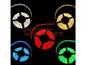 9.6W 5M Length 120/Mx3528SMD  Colorful LED Strip Light For Christmas & Halloween Decoration