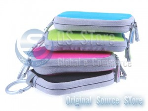 Digital Camera Clip Soft Bag sleeve Hard Case Pouch Carrying for Sony Cyber-Shot LCS-TWE