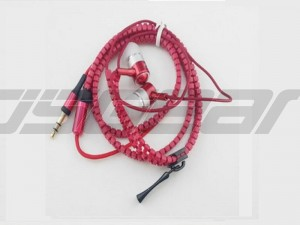 3.5mm Jack Stereo Earbuds Earphones with Mic Zipper Earphone for Cell Phone MP3
