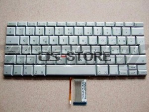 "Keyboard replacement for Apple PowerBook G4 Laptop 17"" A1013 A1052 A1085 A1107 A1139 Multi Language silver"