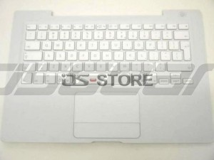 "Keyboard with Top Case frame replacement for Apple MacBook 13"" 13.3"" A1181 A1185 MA254 MA255 MA472 MA561 MA566 Multi Language White Black"