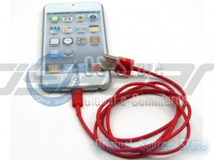 Color USB To Micro 100cm 200cm 300cm Data charger sync Colorful Cable For iPhone 5 iPod Touch 5th Gen iPod Nano 7th Gen iPad 4th Generation iPad mini