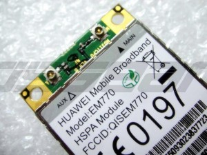 HuaWei EM770 PCI-express Mini PCI-e 3G HSPA WWAN WLAN Wireless WIFI Card Module 7.2MB