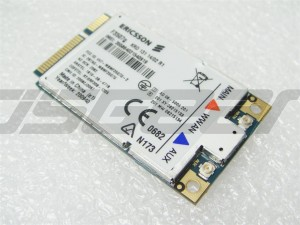 Ericsson F3507G Mini PCIe HSDPA 7.2MB WLAN GPS 2G 3G WWAN Wireless WIFI Card Pcle Device Module