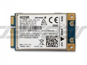 Dell DW5540 H039R 5PJ87 C680R Ericsson F3607GW 3G WWAN Wireless Wifi Card Mini PCIe HSDPA GPS