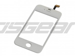 "3.5"" LCD Touch Digitizer Glass Panel Screen White Replacement for apple iPhone 4 4G 16GB 32GB Replacement"
