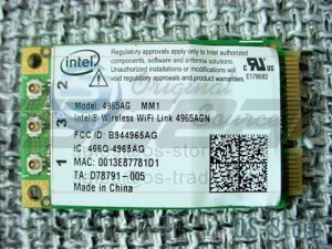 HP Compaq Laptop Intel 4965AG Mini PCIe Wireless WLAN WiFi Card Device Module