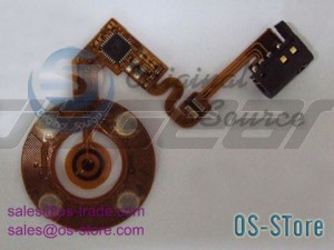 Wheel Button Flex Cable Replacement for iPod Nano 2nd Black
