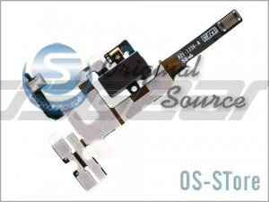 Headphone Audio Jack Flex Cable Replacement for apple iPhone 4GS 4S