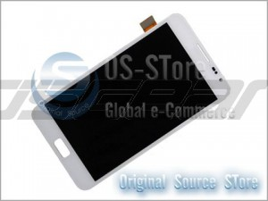 "5.3"" Full LCD Display Screen+Touch Digitizer Panel Replacement for Samsung Galaxy Note i9220 N7000 White Replacement"