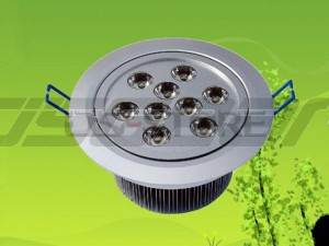 9W 9X1w LED Spot Lamp White / Warm Light 2700-70000K 900LM AC85-265V