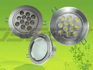 12W 12X1w LED Spot Lamp White / Warm Light 2700-70000K 1200LM AC85-265V