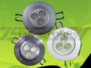 3W 3X1w LED Energy Saving Spot Lamp White / Warm Light 2700-70000K 300LM AC85-265V