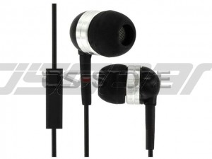 3.5mm In-Ear Earphone Headphone Headset Earbuds with MIC Microphone for Mobile Phone Tablet PC PSP MP3 MP4 WHF-065