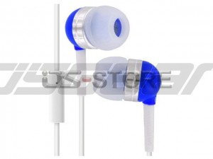 3.5mm In-Ear Earphone Headphone Headset Earbuds with MIC Microphone for iPhone Blackberry HTC Samsung LG Motorola WHF-065